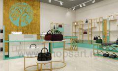 Дизайн интерьера магазина сумок торговое оборудование ТИФФАНИ Дизайн 04