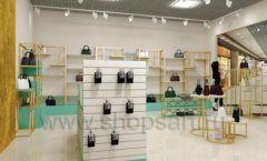 Дизайн интерьера магазина сумок торговое оборудование ТИФФАНИ Дизайн 09