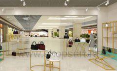 Дизайн интерьера магазина сумок торговое оборудование ТИФФАНИ Дизайн 17