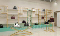 Дизайн интерьера магазина сумок торговое оборудование ТИФФАНИ Дизайн 18