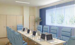 Мебель для переговорной конференц зала Вид 050
