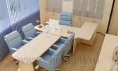 Мебель в кабинет директора Вид 10