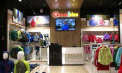 Торговое оборудование детского сетевого магазина OLDOS KIDS ТРЦ Каширская Плаза коллекция РАДУГА Фото 02