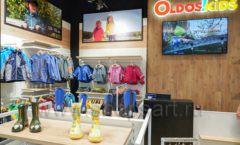 Торговое оборудование детского сетевого магазина OLDOS KIDS ТРЦ Каширская Плаза коллекция РАДУГА Фото 07