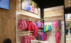Торговое оборудование детского сетевого магазина OLDOS KIDS ТРЦ Каширская Плаза коллекция РАДУГА Фото 14