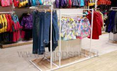 Торговое оборудование детского сетевого магазина OLDOS KIDS ТРЦ Каширская Плаза коллекция РАДУГА Фото 17