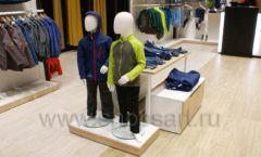 Торговое оборудование детского сетевого магазина OLDOS KIDS ТРЦ Каширская Плаза коллекция РАДУГА Фото 20