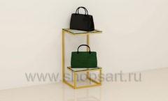 Горка для сумок в магазин пристенная торговое оборудование ТИФФАНИ