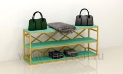 Консоль для сумок в магазин торговое оборудование ТИФФАНИ