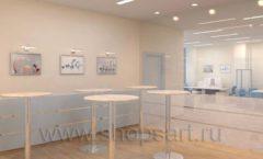 Мебель для переговорной конференц зала Вид 12