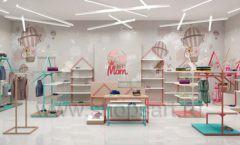 Дизайн интерьера детского магазина торговое оборудование МАМИН ДОМ Дизайн 02