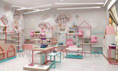 Дизайн интерьера детского магазина торговое оборудование МАМИН ДОМ Дизайн 05