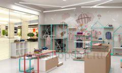 Дизайн интерьера детского магазина торговое оборудование МАМИН ДОМ Дизайн 06