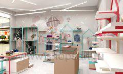 Дизайн интерьера детского магазина торговое оборудование МАМИН ДОМ Дизайн 07
