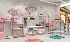 Дизайн интерьера детского магазина торговое оборудование МАМИН ДОМ Дизайн 08
