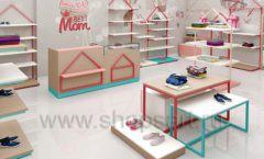 Дизайн интерьера детского магазина торговое оборудование МАМИН ДОМ Дизайн 10