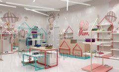 Дизайн интерьера детского магазина торговое оборудование МАМИН ДОМ Дизайн 13