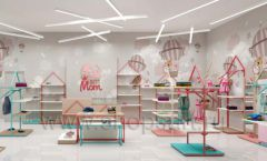 Дизайн интерьера детского магазина торговое оборудование МАМИН ДОМ Дизайн 15