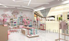 Дизайн интерьера детского магазина торговое оборудование МАМИН ДОМ Дизайн 16