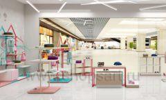 Дизайн интерьера детского магазина торговое оборудование МАМИН ДОМ Дизайн 17