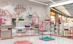 Дизайн интерьера детского магазина торговое оборудование МАМИН ДОМ Дизайн 19
