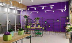 Дизайн интерьера магазина цветов торговое оборудование БУКЕТ Дизайн 03