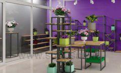 Дизайн интерьера магазина цветов торговое оборудование БУКЕТ Дизайн 04
