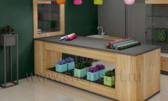Дизайн интерьера магазина цветов торговое оборудование БУКЕТ Дизайн 05