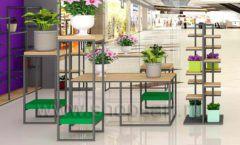 Дизайн интерьера магазина цветов торговое оборудование БУКЕТ Дизайн 11