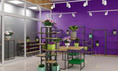 Дизайн интерьера магазина цветов торговое оборудование БУКЕТ Дизайн 12