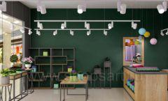 Дизайн интерьера магазина цветов торговое оборудование БУКЕТ Дизайн 13