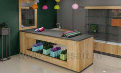 Дизайн интерьера магазина цветов торговое оборудование БУКЕТ Дизайн 14