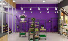 Дизайн интерьера магазина цветов торговое оборудование БУКЕТ Дизайн 17