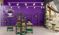 Дизайн интерьера магазина цветов торговое оборудование БУКЕТ Дизайн 18