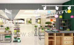 Дизайн интерьера магазина цветов торговое оборудование БУКЕТ Дизайн 21