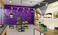 Дизайн интерьера магазина цветов торговое оборудование БУКЕТ Дизайн 22