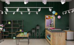 Дизайн интерьера магазина цветов торговое оборудование БУКЕТ Дизайн 25