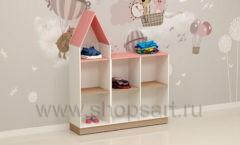 Шкаф для детского магазина торговое оборудование МАМИН ДОМ