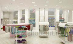 Дизайн интерьера детского магазина Винни Одежда ТЦ Юнимолл коллекция 21 ВЕК Дизайн 01