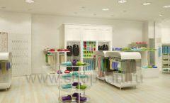 Дизайн интерьера детского магазина Винни Одежда ТЦ Юнимолл коллекция 21 ВЕК Дизайн 02