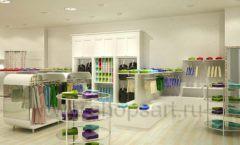 Дизайн интерьера детского магазина Винни Одежда ТЦ Юнимолл коллекция 21 ВЕК Дизайн 03