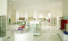 Дизайн интерьера детского магазина Винни Одежда ТЦ Юнимолл коллекция 21 ВЕК Дизайн 04
