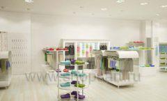 Дизайн интерьера детского магазина Винни Одежда ТЦ Юнимолл коллекция 21 ВЕК Дизайн 05