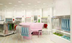 Дизайн интерьера детского магазина Винни Одежда ТЦ Юнимолл коллекция 21 ВЕК Дизайн 06