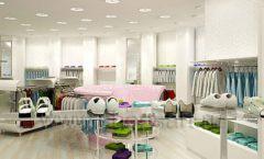 Дизайн интерьера детского магазина Винни Одежда ТЦ Юнимолл коллекция 21 ВЕК Дизайн 07