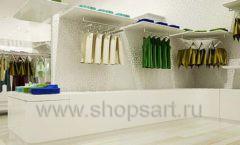 Дизайн интерьера детского магазина Винни Одежда ТЦ Юнимолл коллекция 21 ВЕК Дизайн 08