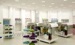 Дизайн интерьера детского магазина Винни Одежда ТЦ Юнимолл коллекция 21 ВЕК Дизайн 10