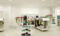 Дизайн интерьера детского магазина Винни Одежда ТЦ Юнимолл коллекция 21 ВЕК Дизайн 11
