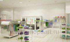 Дизайн интерьера детского магазина Винни Одежда ТЦ Юнимолл коллекция 21 ВЕК Дизайн 12