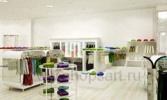 Дизайн интерьера детского магазина Винни Одежда ТЦ Юнимолл коллекция 21 ВЕК Дизайн 13